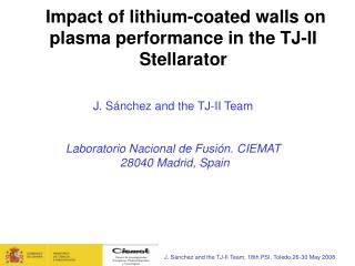 Impact of lithium-coated walls on plasma performance in the TJ-II Stellarator
