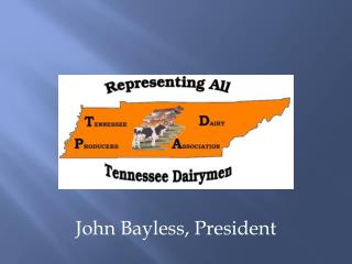 John Bayless, President