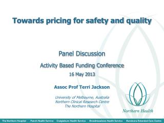 Towards pricing for safety and quality