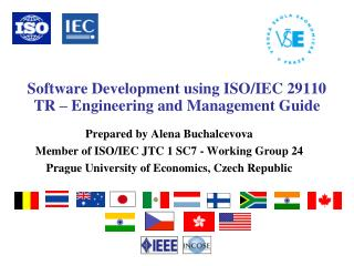 Software Development using ISO/IEC 29110 TR � Engineering and Management Guide