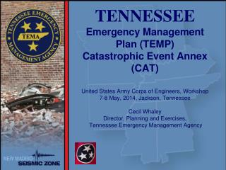 Tennessee Emergency Management Plan (TEMP)