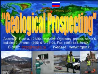 """Geological Prospecting"""