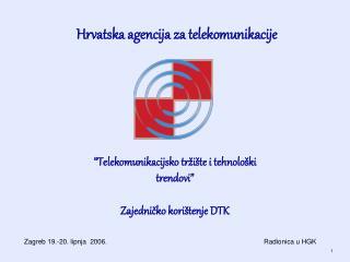 Hrvatska agencija za telekomunikacije