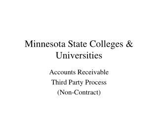 Minnesota State Colleges & Universities