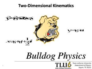 Texas Lutheran University Department of Physics Seguin, TX 78155