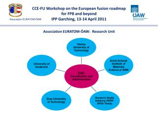 CCE-FU Workshop on the European fusion roadmap for FP8 and beyond IPP Garching, 13-14 April 2011