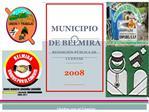 MUNICIPIO DE BELMIRA RENDICI N P BLICA DE CUENTAS 2008