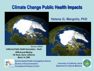 Climate Change Public Health Impacts