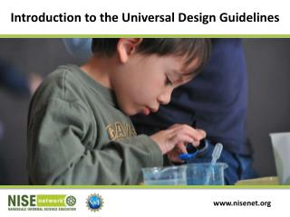 Introduction to the Universal Design Guidelines
