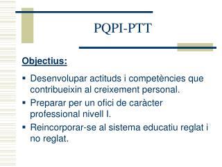 PQPI-PTT