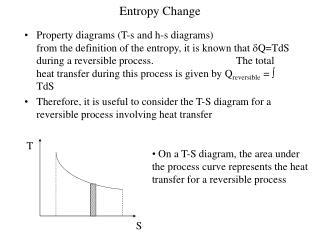 Entropy Change
