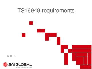 TS16949 requirements