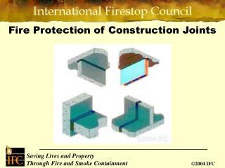 Fire Protection of Construction Joints