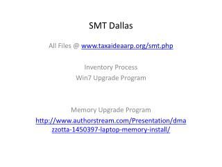 SMT Dallas