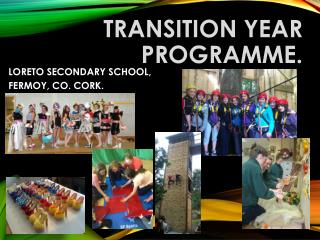 TRANSITION YEAR PROGRAMME.