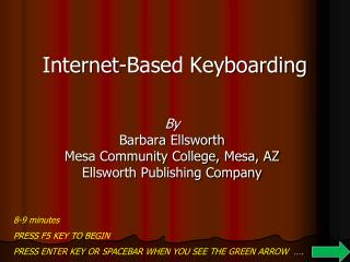 Internet-Based Keyboarding