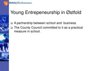 Young Entrepeneurship in Østfold