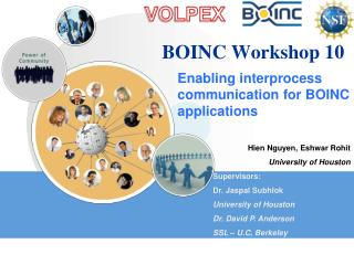 BOINC Workshop 10