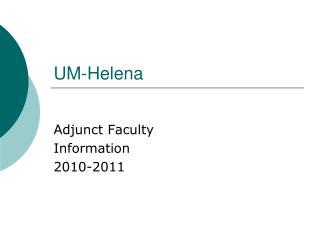 UM-Helena