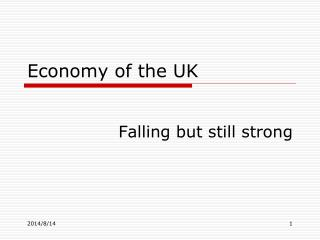 Economy of the UK