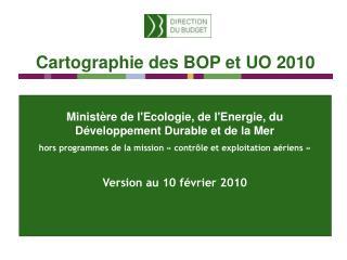 Ministère de l'Ecologie, de l'Energie, du Développement Durable et de la Mer