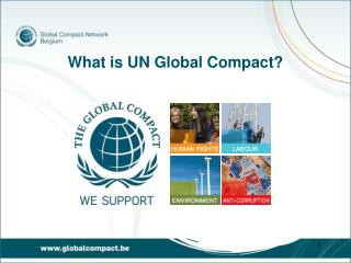 What is UN Global Compact?