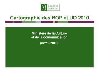 Ministère de la Culture  et de la communication (02/12/2009)