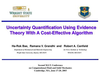 Uncertainty Quantification Using Evidence Theory With A Cost-Effective Algorithm