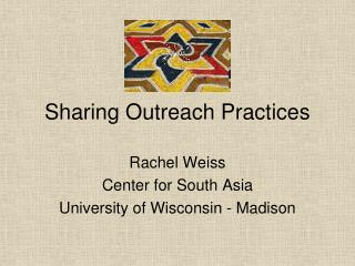 Sharing Outreach Practices