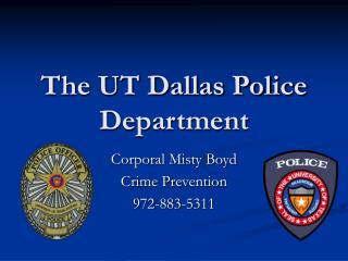 The UT Dallas Police Department