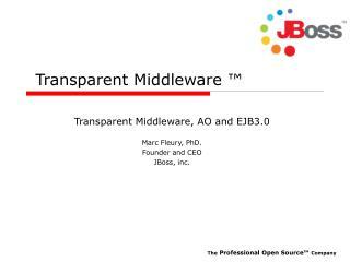 Transparent Middleware