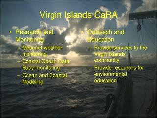 Virgin Islands CaRA