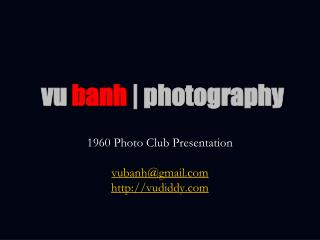 vu banh | photography