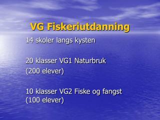 VG Fiskeriutdanning