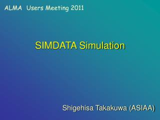 SIMDATA Simulation