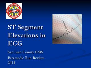ST Segment Elevations in ECG