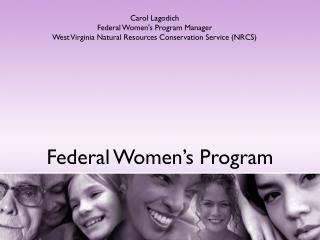 Federal Women's Program