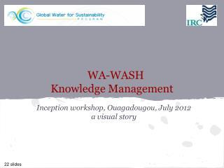 WA-WASH  Knowledge Management