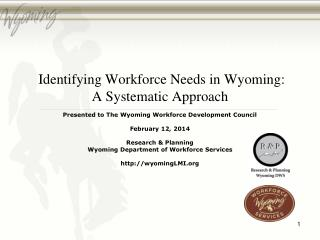 Research & Planning doe.state.wy/LMI/oes.htm