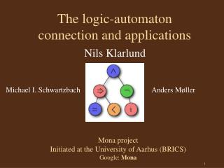 The logic-automaton  connection and applications