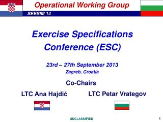 Operational Working Group