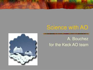 Science with AO