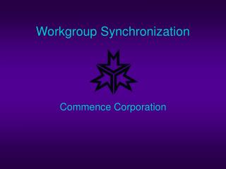 Workgroup Synchronization