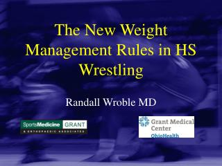 The New Weight Management Rules in HS Wrestling