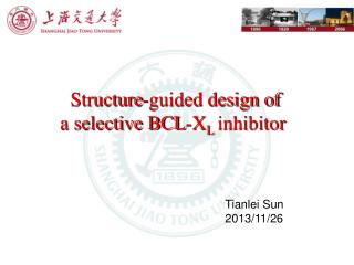 Structure-guided design of  a selective BCL-X L inhibitor