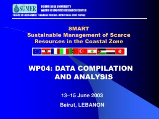 SMART Sustainable Management of Scarce Resources in the Coastal Zone