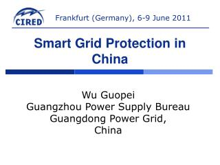Smart Grid Protection in China