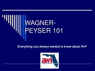 WAGNER-PEYSER 101
