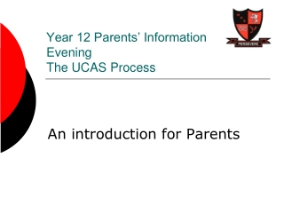 Year 9 Parents  Focus Evening