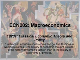 ECN202: Macroeconomics
